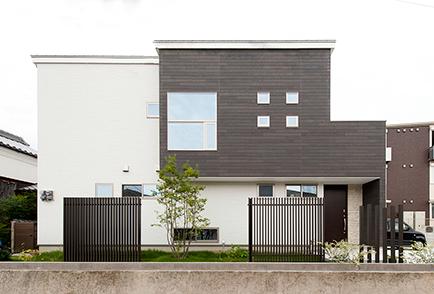 奈良市 新築 注文住宅 施工例 外観